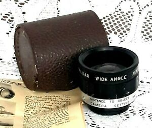 Kaligar Wide Angle Auxiliary Manual Lens Argus C3 with case