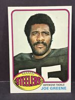 1976 Topps Mean JOE GREENE #245 NM Pittsburgh Steelers HOF