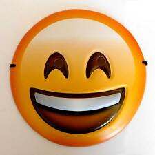 SMILING HAPPY EMOJI FACE MASK - FOR KIDS ADULTS SMILEY GIFT FANCY DRESS EMOTICON