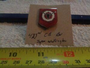 423rd Coast Artillery Battalion Wellington Japan Unit Crest, DI, DUI (DRAW#Z10)