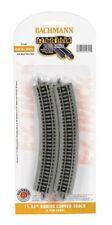 Bachmann N Scale Curved EZ-Track Roadbed Train Track 11-1/4in Radius 6-Pack