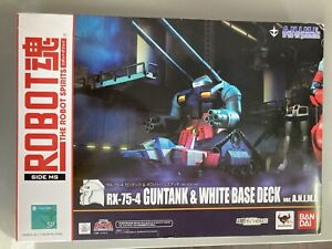 Bandai Robot Spirits Damashii Suit Gundam Guntank Base Hangar Action Figure