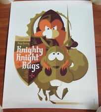 Rare Knighty Knight Bugs Bunny MONDO Tom Whalen Ltd Edition AP Print SOLD OUT