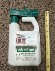 Bayer Advantage Yard and Premise Spray 32 oz Treats 16,000 Sq Ft New