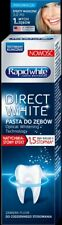 Rapid White WHITENING Toothpaste Optical Whitening Technology Made in USA