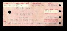 Basketball Ticket Atlanta Hawks 1983 New Jersey Nets 2/26