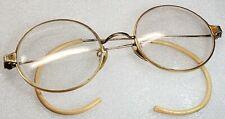 """Antique Vintage Gold Filled """"Wire Rim"""" Eye Glasses ** FOR SCRAP"""