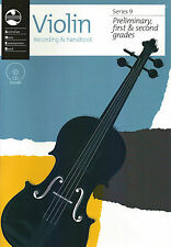 AMEB VIOLIN SERIES 9 RECORDING & HANDBOOK - PRELIMINARY & GRADES 1 & 2 *NEW*