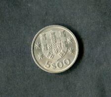 Portugal: 1968 5 escudos coin