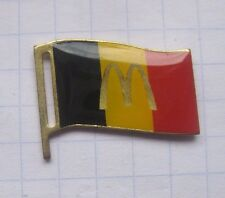 M / BELGIEN / FAHNE  ...............Mc DONALD`s-Pin (148e)