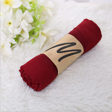 Good Wine Red Style Lady Womens Scarves Long Soft Cotton Scarf Wrap Girls Shawls