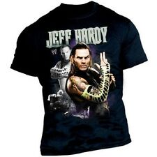 CATCH WWE T-shirt Jeff HARDY Taille Enfant 5-6 ans Youth S