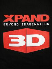 New XPAND Beyond Imagination 3D Gildan Black Cotton SS, L t-shirt Promo XPAND 3D