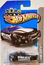 HOT WHEELS 2013 HW CITY TREASURE HUNT REGULAR '10 CAMARO SS - POLICE