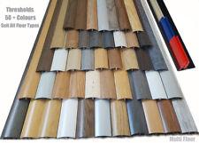 New Floor/Carpet Laminated Threshold Strips Adjustable Height/Pivot 38mm x 90cm