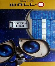DISNEY PIXAR WALL E BLUE CURTAIN DRAPES WINDOW TREATMENT NEW