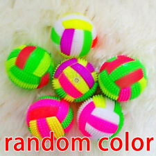 Volleyball Flashing Led Light Up Color Changing Bouncing Hedgehog Ball Kids Toy