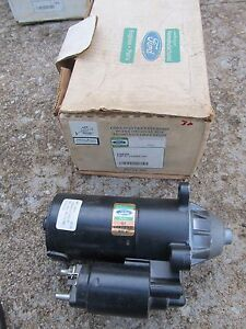 Ford Authorized Reman Fred Jones STARTER MOTOR FORD ESCORT 1986-2001 1.8L USA