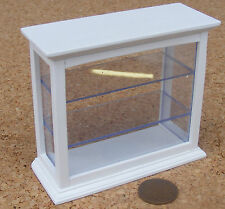 1:12 Scale White Painted Shop Counter Display Cabinet Dolls House Miniature 468