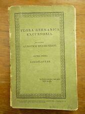 1830 FLORA GERMANICA Carl Ludwig REICHENBACH copy of LOUIS AGASSIZ Plants BOTANY