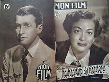 "MON FILM 1950 N 222 "" BOULEVARD DES PASSIONS"" avec JOAN CRAWFORD"