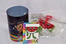 """New-Whiffer Sniffers-Mystery P.4- """"Milton Melon""""-Watermelon-Bl ack Seeds-Backpack"""