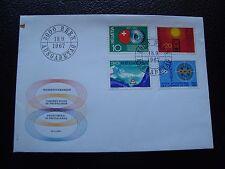 SUISSE - enveloppe 1er jour 18/9/1967 (cy97) switzerland (tachee haut gauche)