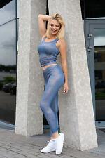 MERRIBEL 181 Luxury Super Soft Decorative Gym / Sports Top and Matching Leggings