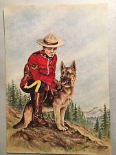 Sets of 3 RCMP Canada Police Vintage Color Postcards