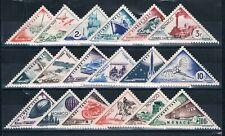 T6278 - MONACO - Timbres Taxe N° 39 A à 55 Neuf** Année 1953