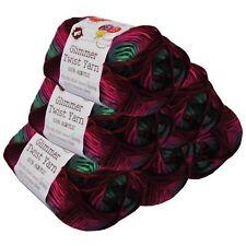 Glimmer Twist Acrylic Yarn 100g 134m Multi Desert Spring