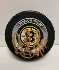 Ray Raymond Bourque Signed Official NHL Boston Bruins Hockey Puck HOF w proof