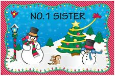 Christmas Placemat - No.1 Sister