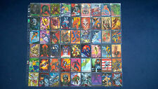 Trading Cards 90 stk Marvel 1993 Sky Box kompl. Set