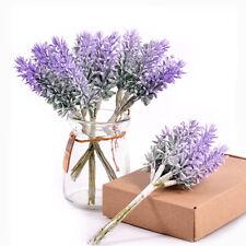 Artificial Flowers Romantic Mini Lavender For Wedding Christmas Home DecorationK