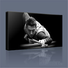 MARK SELBY WORLD SNOOKER CHAMPION SUPERB ICONIC CANVAS ART PICTURE Art Williams