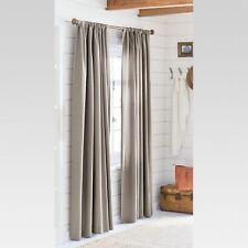 "Threshold Farrah Curtain Panel Gray  - 54"" X 84"""