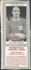 TYPHOO 1967 INTERNATIONAL STARS-#12-NOTTINGHAM FOREST & WALES-TERRY HENNESSEY