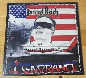 Sacred Reich Ignorance Limited Edition Cobalt Blue Vinyl LP MINT