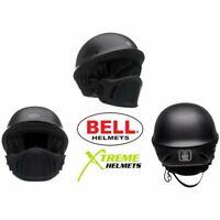Bell Rogue Helmet Matte Black Muzzle Speaker Pockets Open Face DOT XS-2XL