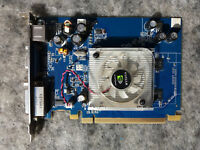 NVIDIA GeForce 8400 GS, 256 MB DDR2, 64 bit, VGA-D Sub , DVI, S-Video, PCI-E x16