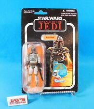 Boba Fett 3.75 Figure VC09 Star Wars TVC Revenge of the Jedi Hasbro New on Card