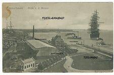 Bremen Bremerhaven Schiff alte Gebäude siehe Postkarte