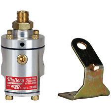 MSD 29386CR Mallory 4-12PSI 2 Port Carb Fuel Pressure Regulator
