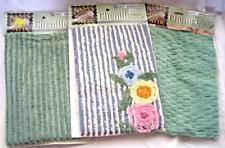 Daisy Kingdom Nana's Attic Lot of 3 Chenille Craft Cuts Fabric Cottage