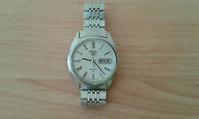 Vintage Reloj Watch SEIKO 5 - Automatic Day Date - Steel - For Collectors