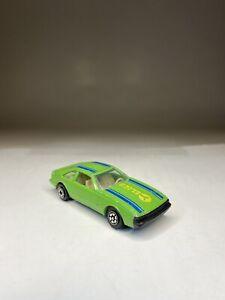 Yatming Super Celica No. 1036 Green Metal Car Toyota Made In Hong Kong