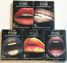 Lot of 5, Maybelline Python Metallic Lip Kit