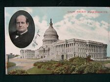 "William Jennings Bryan ""Our Next President"" 1908 Presidential Campaign postcard"