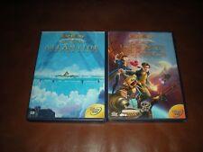 LOT 2 DVD DISNEY LOSANGE JAUNE 61 ATLANTIDE + LOSANGE JAUNE 68 PLANETE AU TRESOR